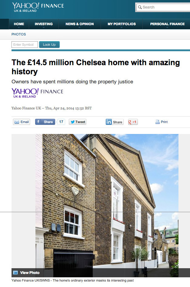 Russell Simpson Feature On Yahoo Finance The Chelsea Courthouse